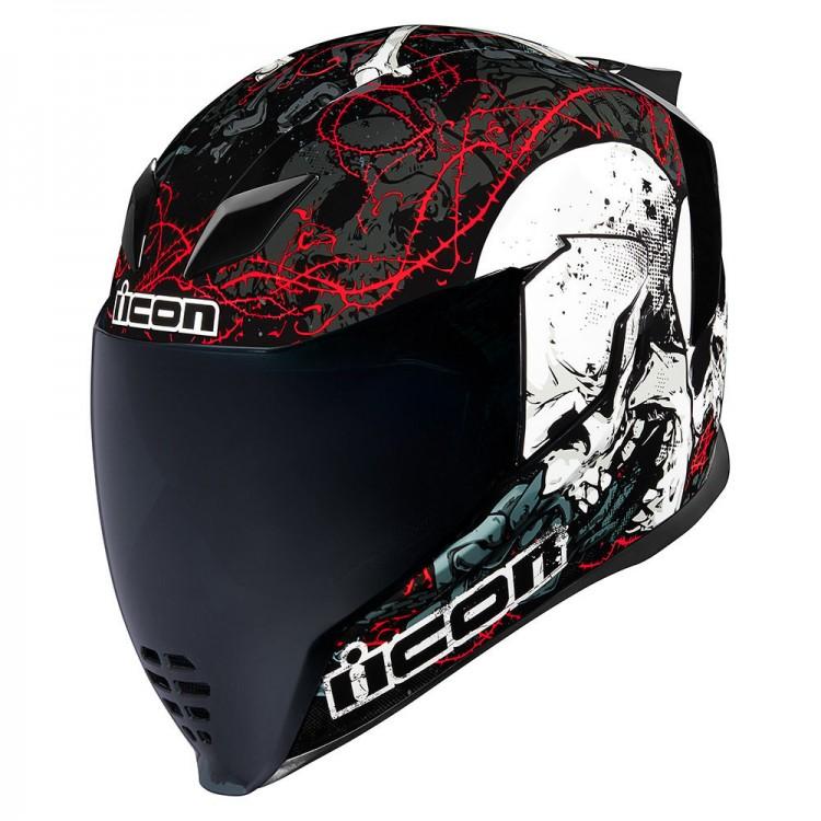 Casca moto ICON AIRFLITE SKULL18